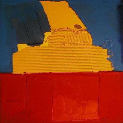 Impression d'Egypte, sept 00, 100 x 100 cm
