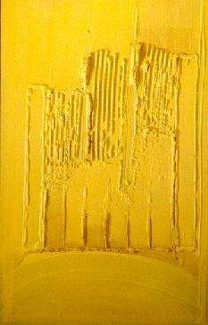 Le labour du champs de moutarde, 80 x 120, septembre 2000