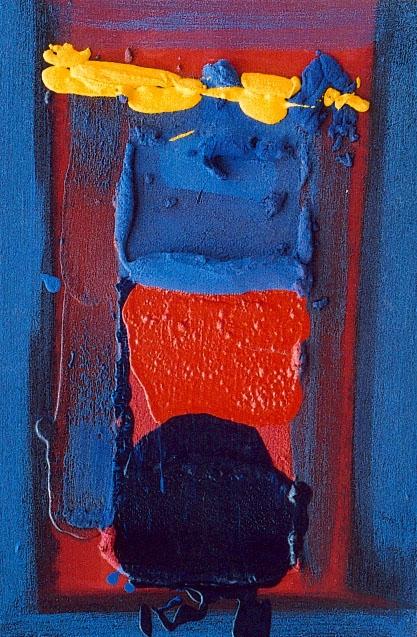 Marée bleu marine, 40 x 60 cm, mai 2005