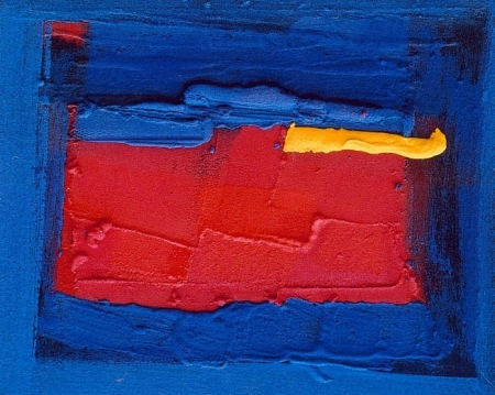 Paysage au coup de soleil, 50 x 60 cm, mai 2005
