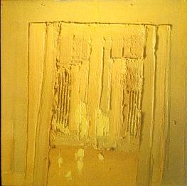 Rien que jaune, 122 x 122, septembre 2000