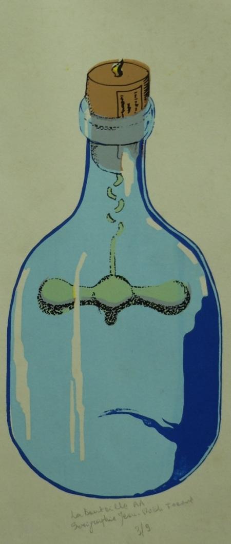 la bouteille AA 1973