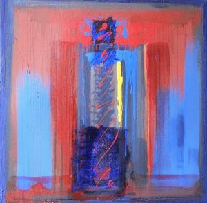 Délavée, 100X100 cm, Janvier 2002