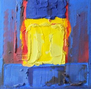 trio de pâtes 1, 2001, 80X80 cm